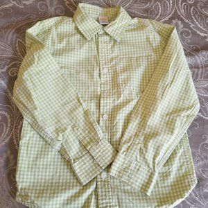 ❤️10 for $30 Green Striped Button Down Shirt